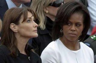 MichelleObamaMrsSarkozy