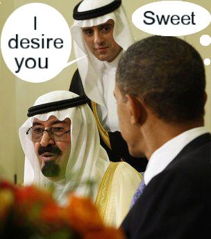 ObamaSaudiSweet
