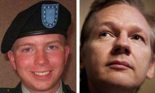 Bradley-Manning-Julian-Asange