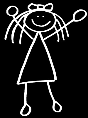 Girl-stick-figure