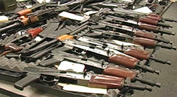 Narco terrorist insurgent guns