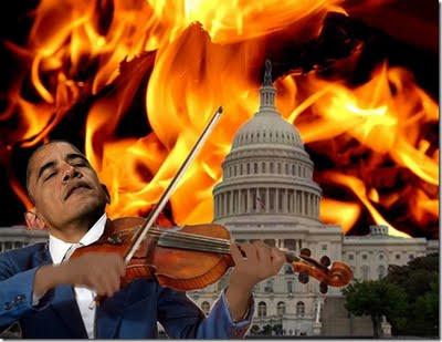 Obama Fiddles