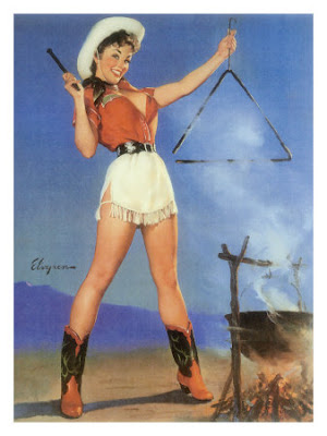 Cowgirl-barbeque-pin-up-girl-posters11