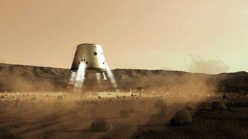 Mars One Concept Art