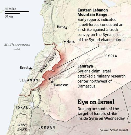 IsraelStrikesSyria