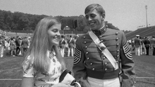 Holly-and-david-petraeus-young-at-west-point