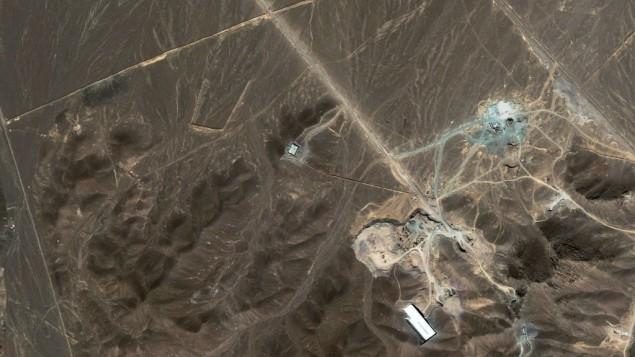 IranNuclearSiteBombedFordo