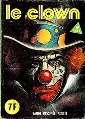 Scarrty Magazine cover clown 8016506412_9b535dc09f_m