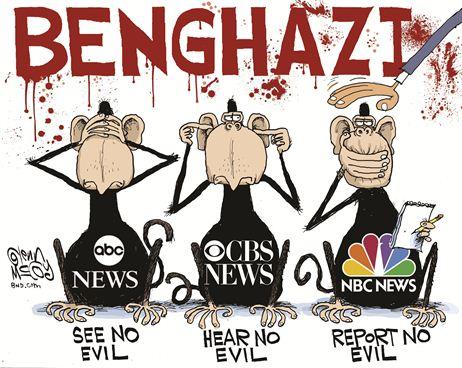 Benghazi see no evil