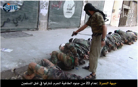 Nusrah-executes-Syrian-soldiers