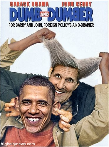 Obama Kerry Dumb Dumber