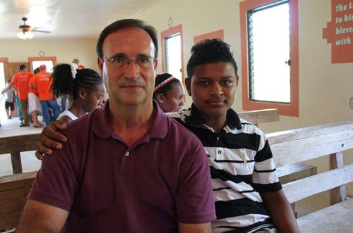 Pastor Randy and Omar