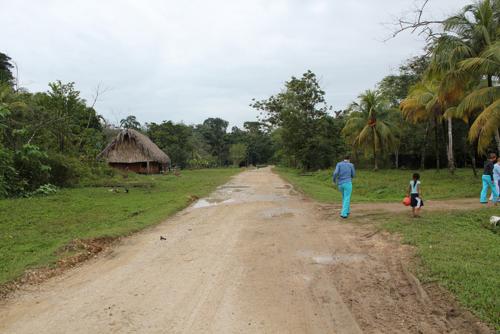 Belize road 2015