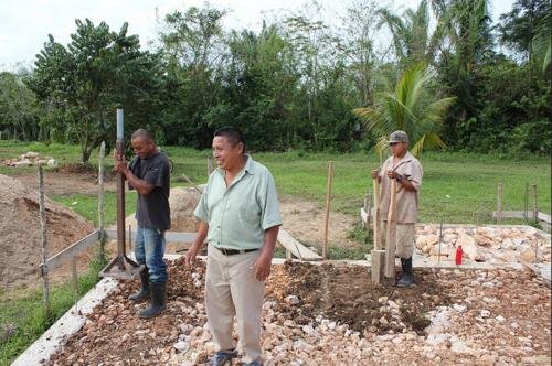 Belize church foundation 2015